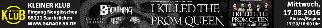 20160817 I Killed The Prom Queen